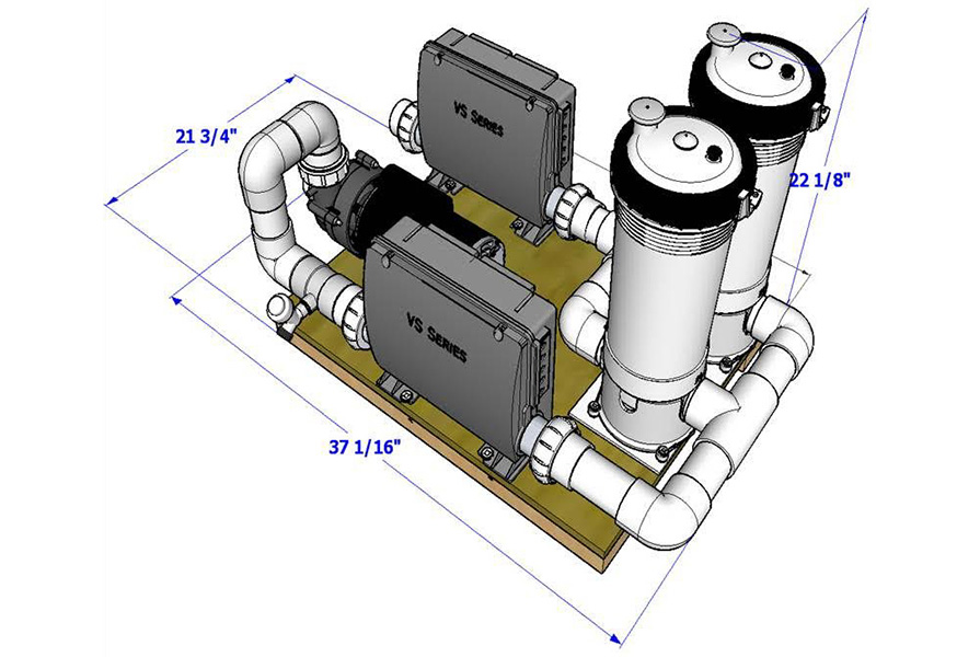 Configuration With Auxiliary Heater