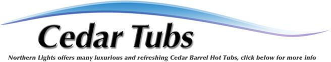 Northern Lights Offers Many Luxurious and refreshing Cedar Barrel Hot Tubs