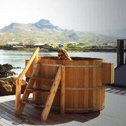 classic wooden hot tubs