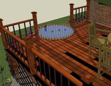 Northern Lights Cedar Tubs Wood Hot Tub Designs