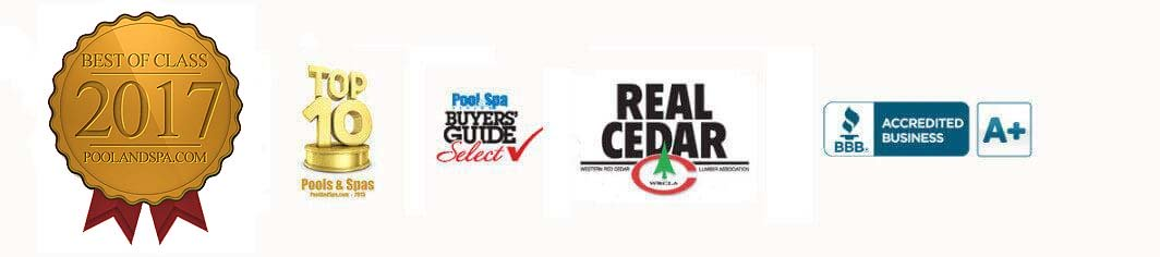 cedar tubs awards