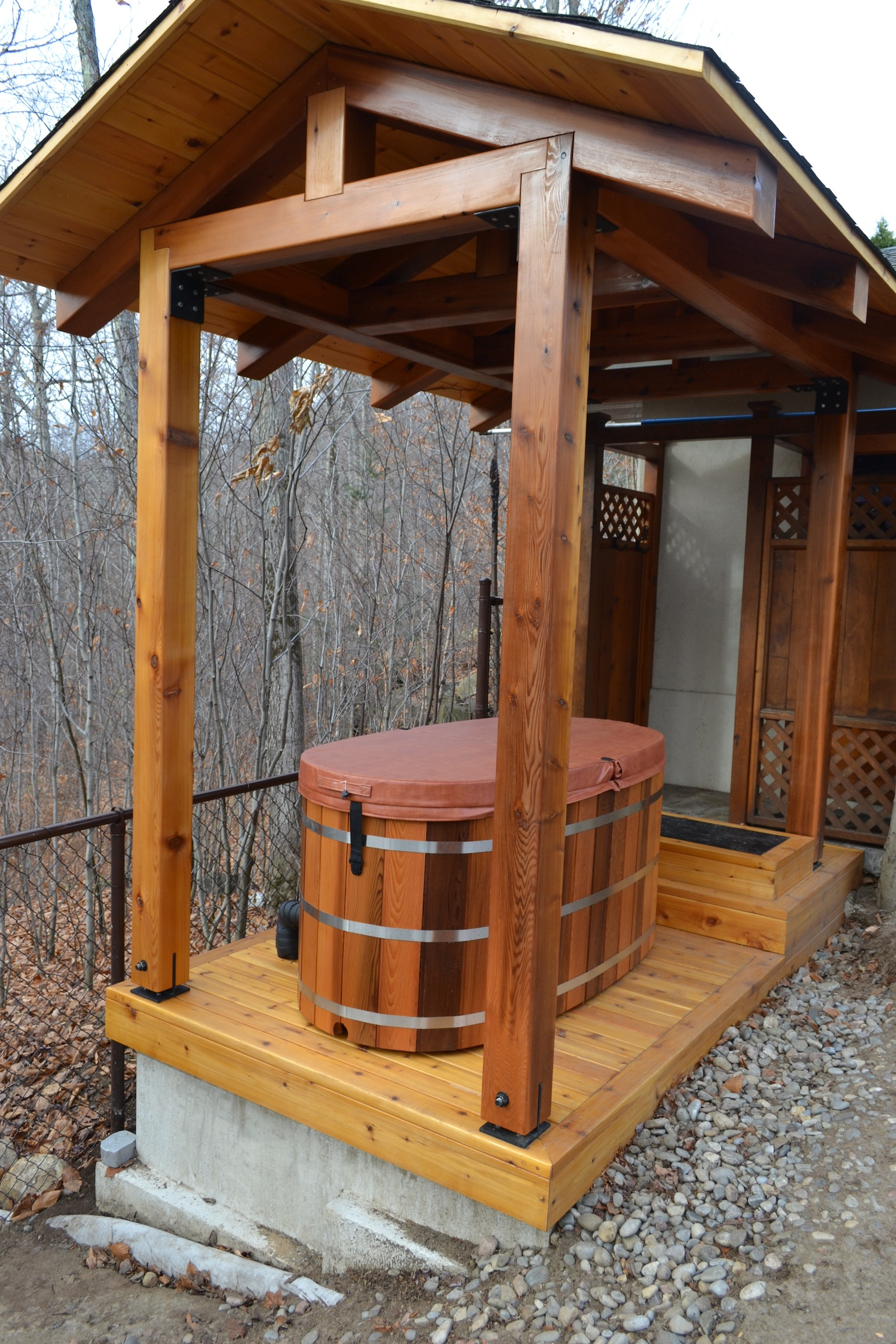 Indoor & Outdoor DIY Sauna Kits | Cedar Barrel Saunas