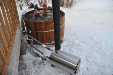 Wood Fired Hot Tub Heater Wood Pool Heater Ebay