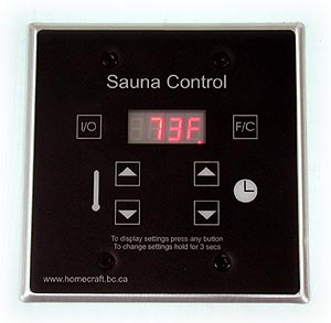 digital Sauna Timer