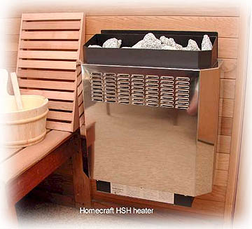 Complete DIY Sauna Kit 7 X 9