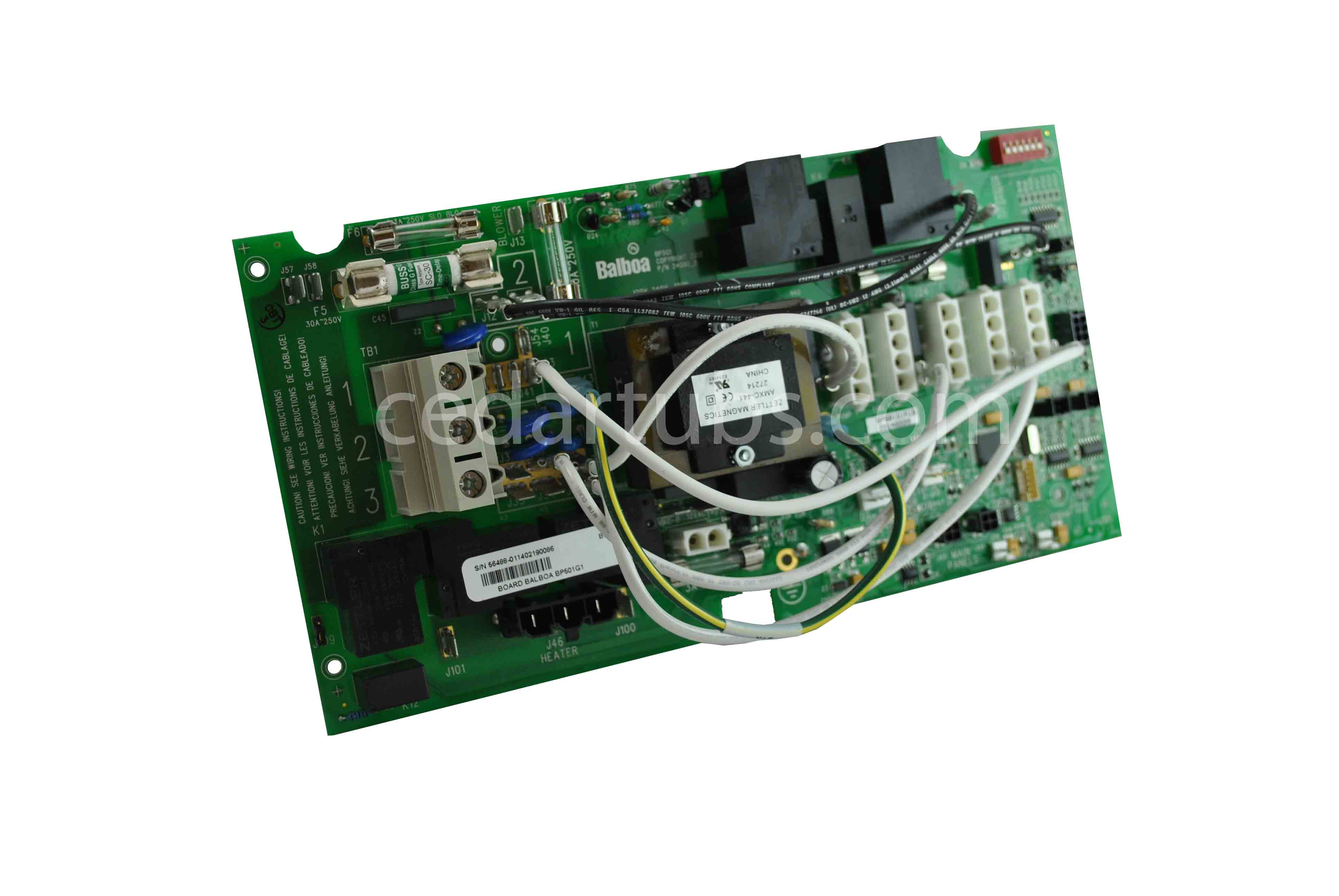 BP501 G! replacement board