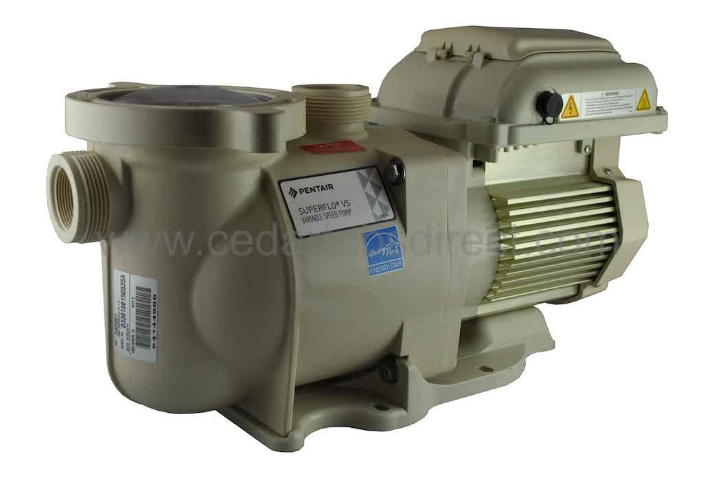 Details about Pentair SuperFlo VS - Variable Speed Pump - #353132