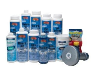 water treatment kit for wood hot tubs