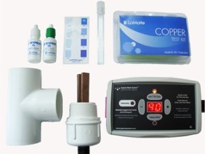 Clear Blue Mineral Ionizer